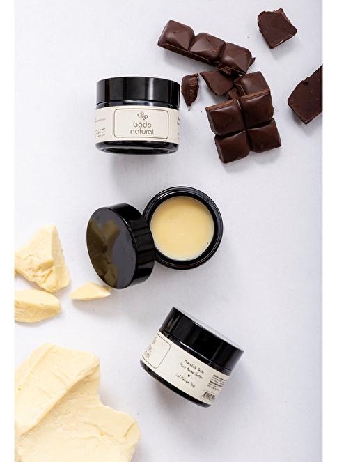 Bade Natural Soğuk Sıkım Kakao Yağı  %100 Doğal & Saf 50 ml  Renksiz
